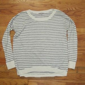 Gap Striped Oversized Long Sleeve Sweater